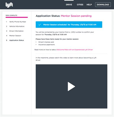 Lyft Background Check Status The End Of Lyft Recruiting And Start Of Mentor 2 0 Rideshare Dashboard