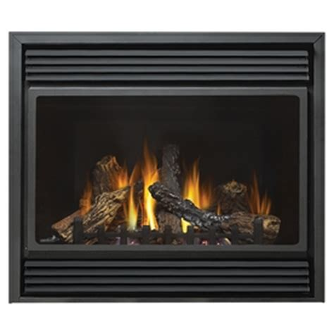 shop continental 37 5 in direct vent black corner liquid