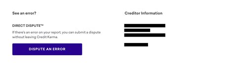 Credit Karma Dispute Letter how to dispute an error on your credit report credit