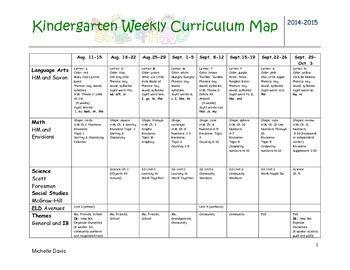 kindergarten curriculum map template subjects in kindergarten popflyboys