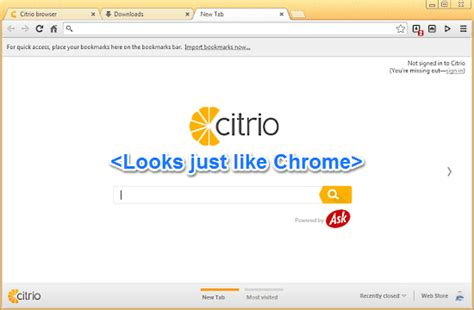 citro browser chrome based browser with manager bittorrent