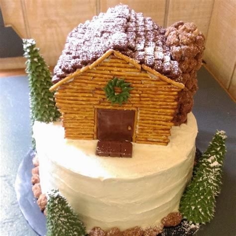 Log Cabin Cakes by The Cake Box