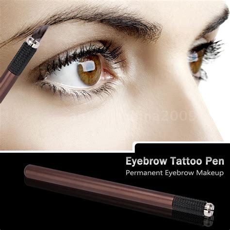 permanent tattoo eyebrow makeup pen machine pro permanent eyebrow tattoo pen manual microblading