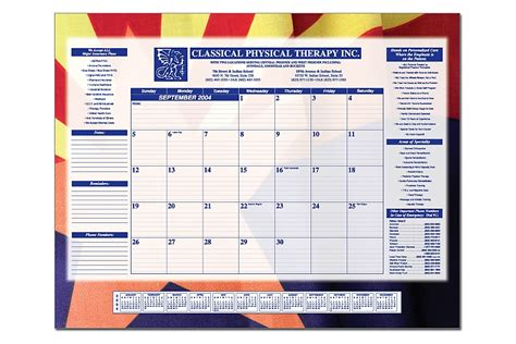 promotional desk pad calendar a simple and effective