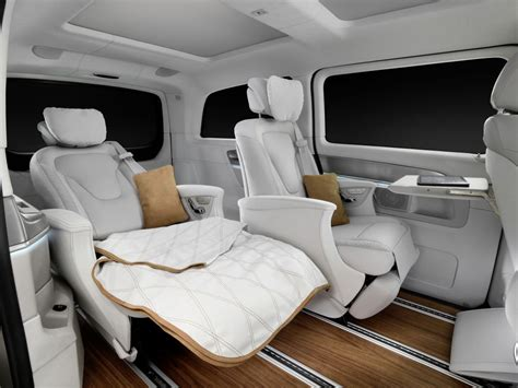 luxury minivan 2016 mercedes benz 2016 v class v ision e geneva show