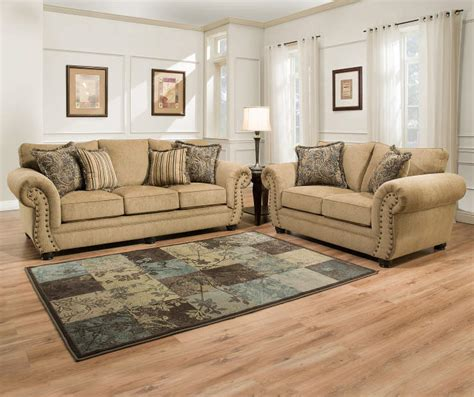 simmons morgan antique memory foam sofa simmons morgan living room collection big lots