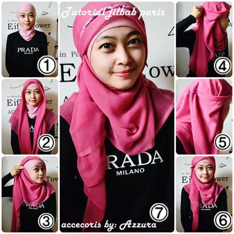 tutorial hijab segi 4 tanpa ciput tutorial hijab