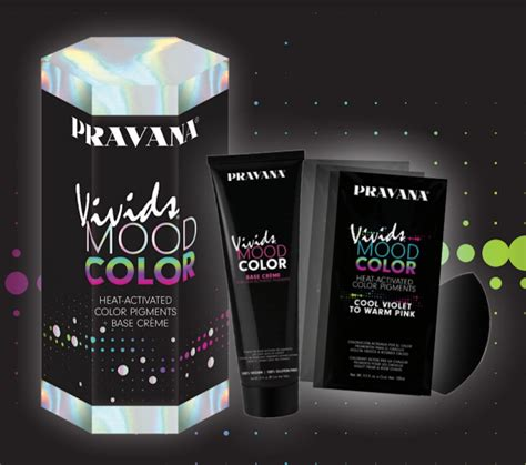 changing hair color pravana s new color changing hair dye is like a mood ring
