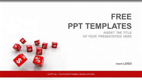 free finance powerpoint templates percent dollar finance ppt templates free