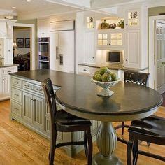 kitchen island with built in table 1000 ideas about kitchen island table on island table kitchen islands and island