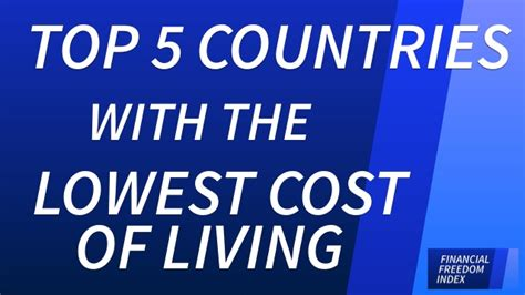 lowest cost of living states lowest cost of living states top 5 countries with the lowest cost of living financial