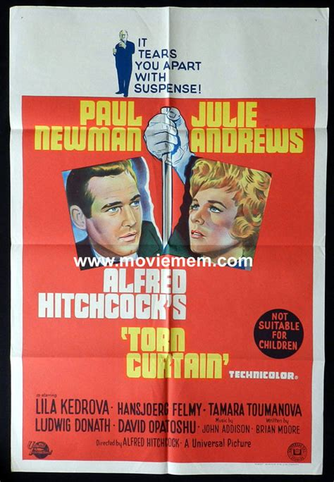 torn curtain 1966 gallery alfred hitchcock australian movie posters