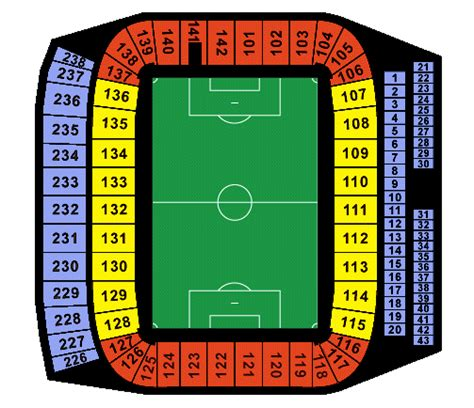 home depot center pin home depot center seating chart click here for the on
