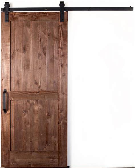 Barn Door Parts Sliding Barn Door And Hardware Kit Rustica Hardware