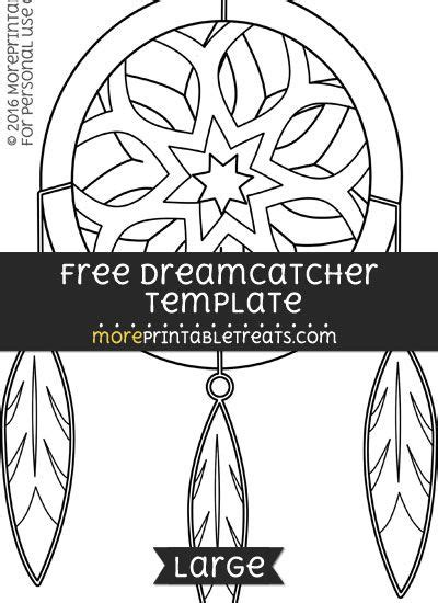 dreamcatcher template free dreamcatcher template large shapes and templates