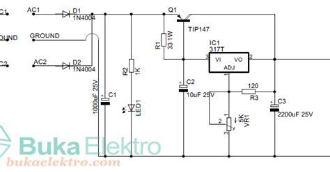 teori layout toko membuat rangkaian power supply variable beserta layout