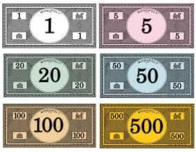 monopoly money templates best photos of print your own monopoly money monopoly