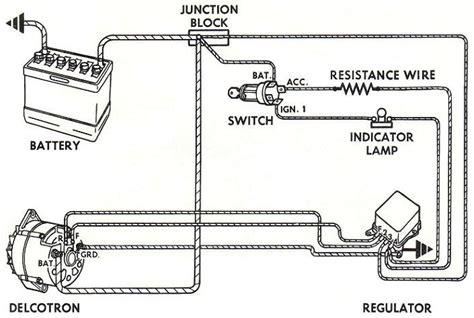 12 volt alternator wiring diagram alternator free