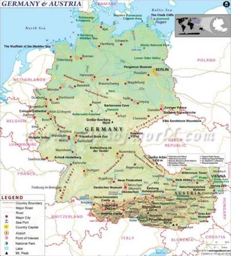 austria map with cities austria map map travel holidaymapq