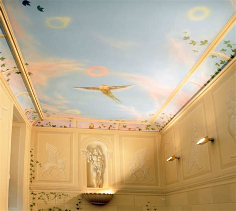 Painting On Ceiling by Rainer Latzke Ceiling Paintings