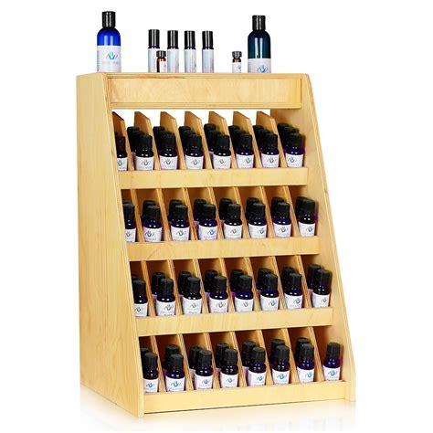 240 bottle essential retail display rack