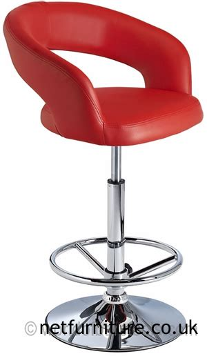 highest quality bar stools top leather breakfast high acqua bar stool with padded adjustable swivel seat red