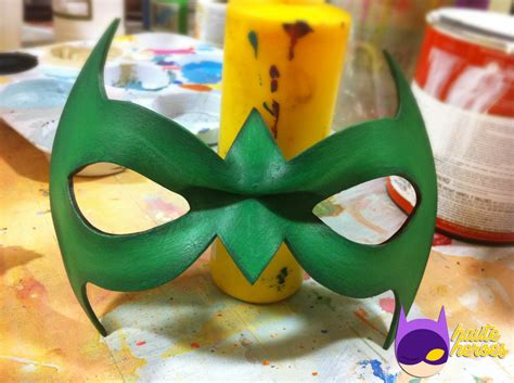 How To Make A Robin Mask Out Of Paper - robin mask damian wayne version by teenygeek on deviantart