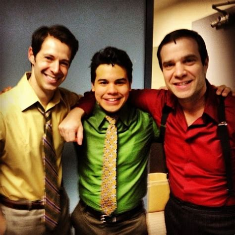 carlos valdes from pebblebrook to jersey jersey boys blog photo flash saturday intermission pics dec 15 newsies