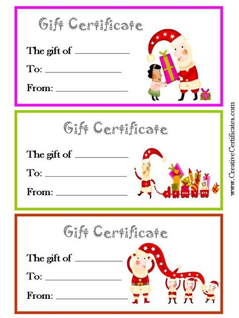 blank gift certificate template word blank gift certificate template free