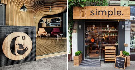 design a cafe sign 9 design ideas for creative and modern wood signs