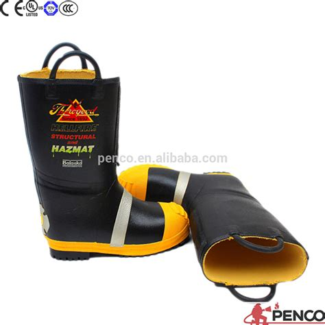 Sepatu Boot Pemadam Kebakaran kuning nfpa en standar pemadam kebakaran sepatu sepatu
