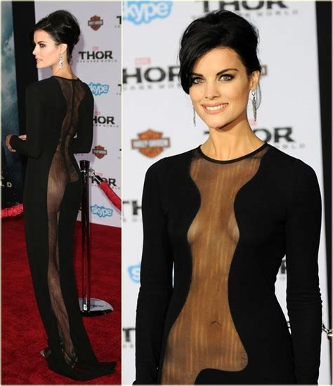 jaimie alexander confirms thor 3 and that s she s did you notice jaimie alexander s sparkly stilettos at the