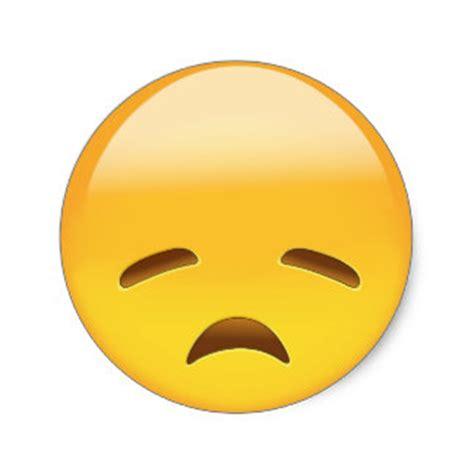 imagenes de emoji triste pegatinas emoji triste adhesivos zazzle es