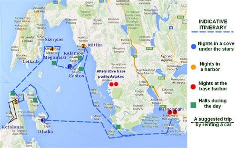 sailing greece ionian islands sailing holidays around the ionian