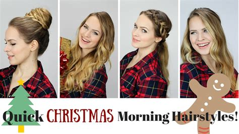 5 and easy morning hairstyles