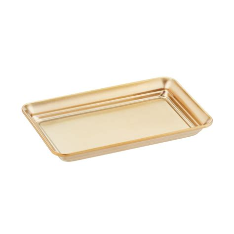 Vanity Tray For Bathroom Gold Vanity Tray The Container Store