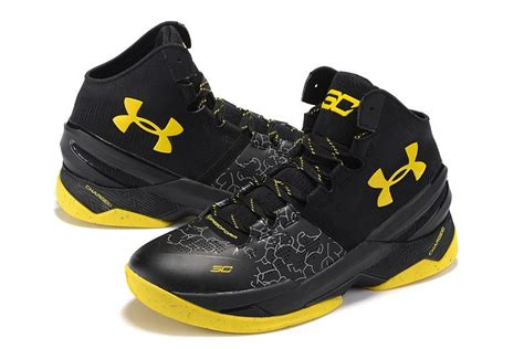 batman basketball shoes curry 2 armour shoes batman black yellow