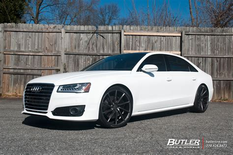 audi a8 with rims audi a8 with 22in vossen cvt wheels exclusively from