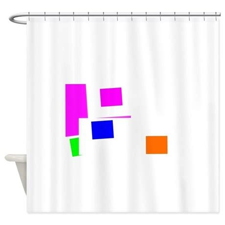 Vision Shower Curtain By Paulinkauppa