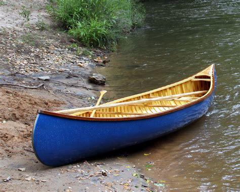 canoes and creativity 15 custom wood canvas canoe built to order via etsy