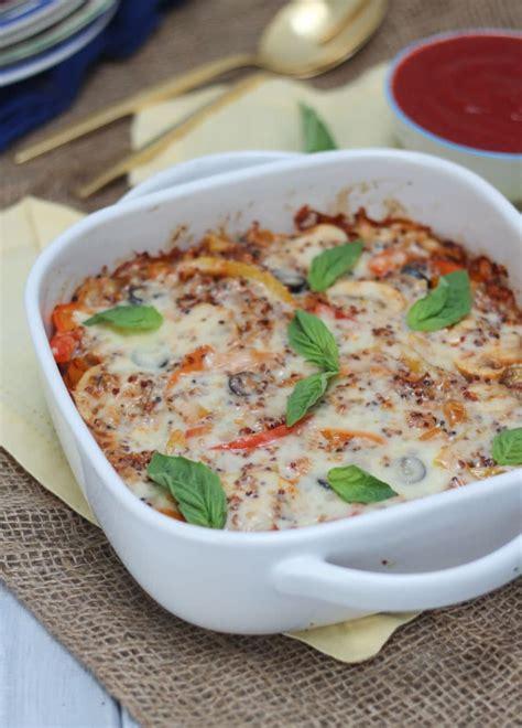 gluten free vegan casserole recipes gluten free vegetarian pizza quinoa casserole healthy