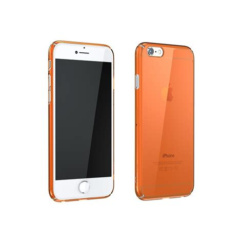 Colorant Iphone 5 C2 Clearorange 1 tough ultrathin for iphone 6
