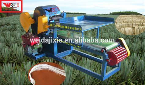 Banana Fiber Paper Machine - plant fibre extracting machine sisal banana stem