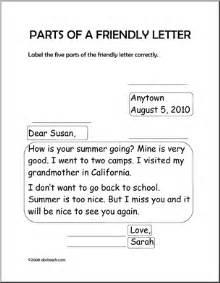 Business Letter Label Parts 15 Best Images Of Parts Of A Letter Worksheet Friendly