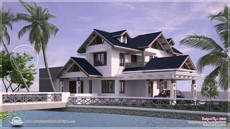 river home design reviews river side kerala style residence exterior design home kerala plans