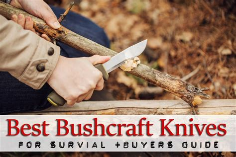 bush craft for best bushcraft knifes for survival for 2018 buyers guide