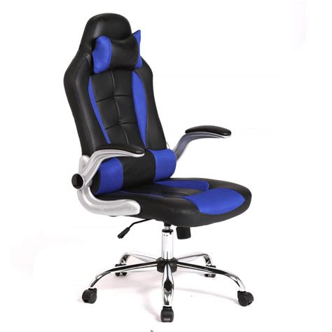 gaming desk chairs new high back race car style seat office desk chair