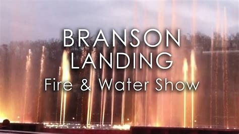 branson landing light branson landing fountains lights free