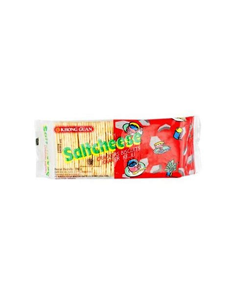 Biskuit Saltcheese Combo khong guan crackers saltcheese regular pck 200g klikindomaret