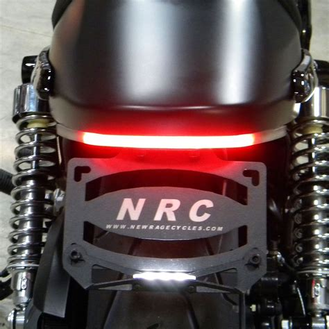 Rage Led Light Bar New Rage Fender Eliminator With Led Tailights For Xg